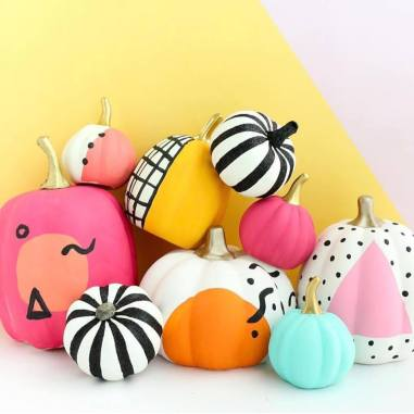 multi pattern pumpkins